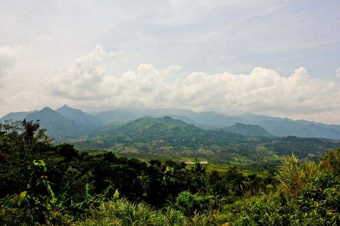 Jonggol - Bogor dari puncak bukit