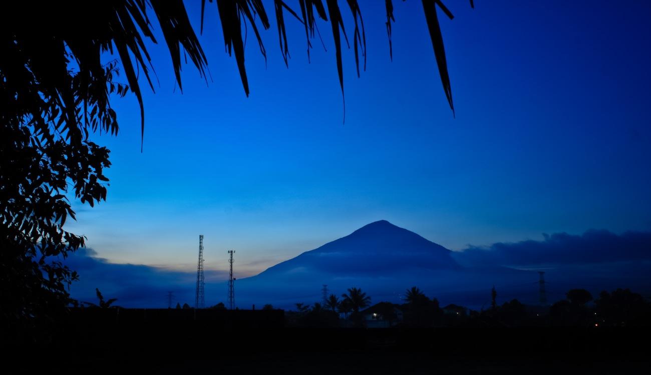 Gunung Cikuray aka Cikuray Mountain.
