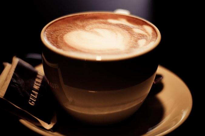 hazelnut latte. kata @dwiyuniartid, kurang nampol:p