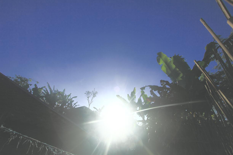 mataharinya di depan mata. siap berjemur. yuk!