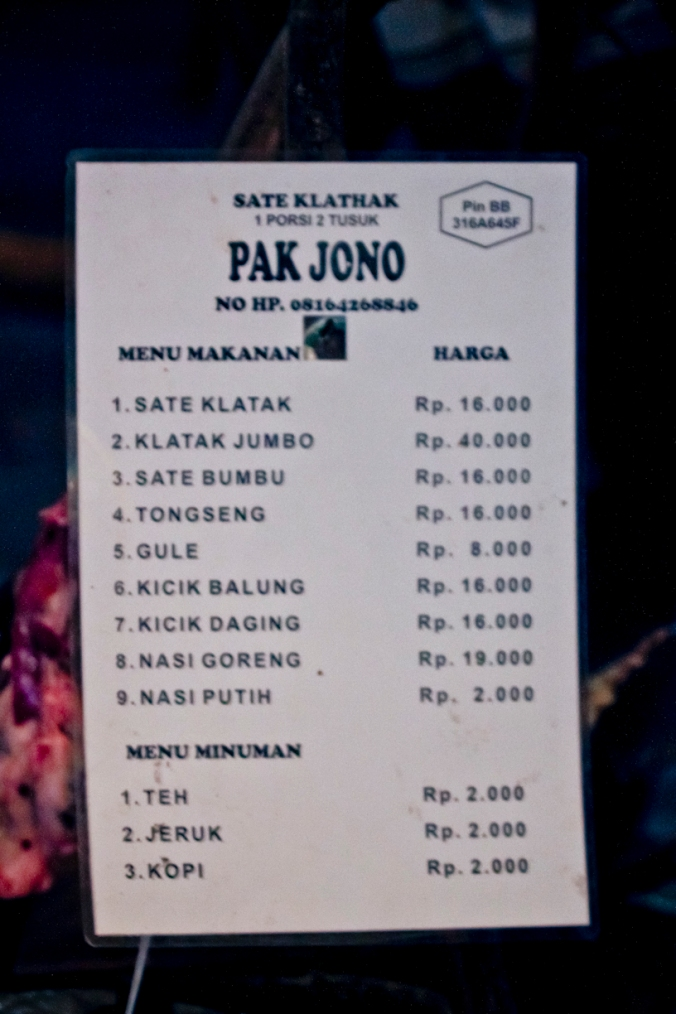 List harganya. Pengen makan yang jumbo:))