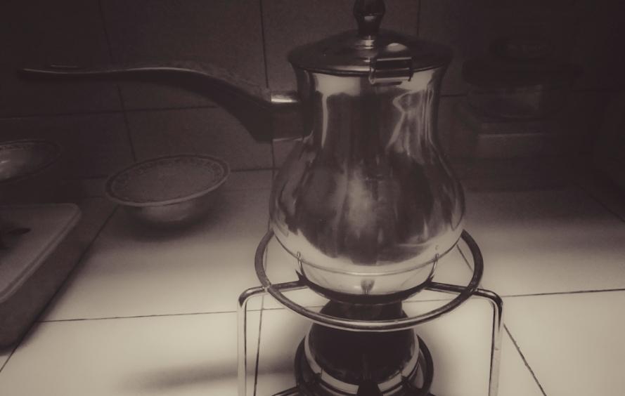 CEZVE. Turkish coffee.