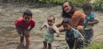 VIRGILLYAN RANTING AREYTHUZA bersama si bolang dari kaki Gunung Malang.