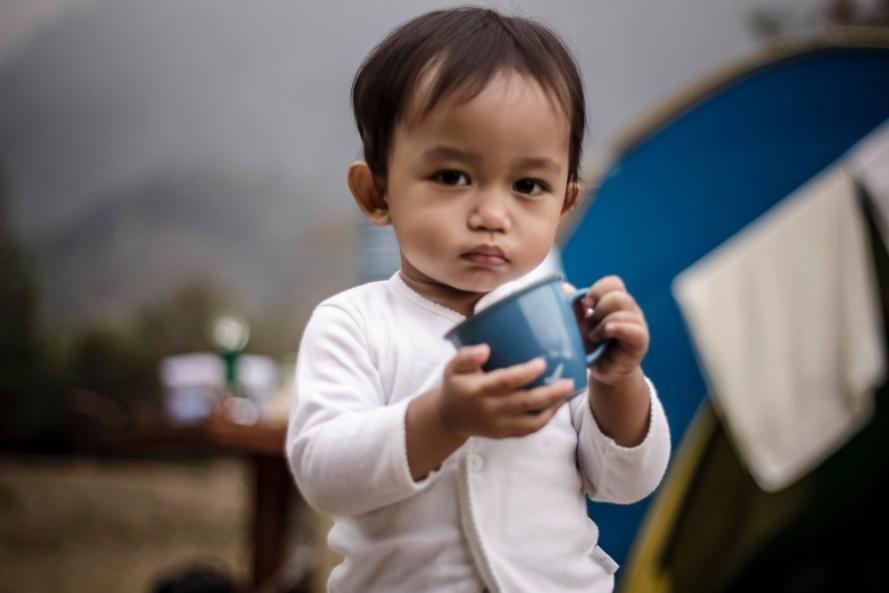 Kenalin nih, penyuka kopi, sahabat kecil saya, Virgillyan Ranting Areythuza!