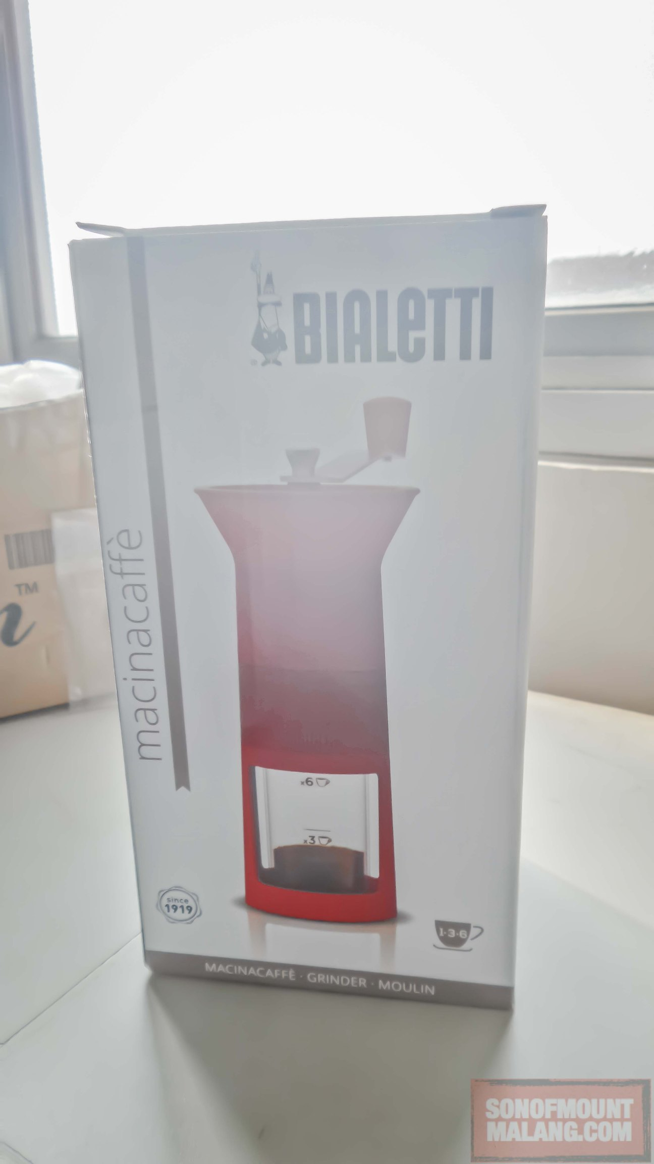 Unboxing Bialetti Macinacaffe.