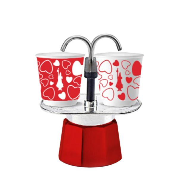 Bialetti - Mini Express Set Emotion Red (2 Cups)